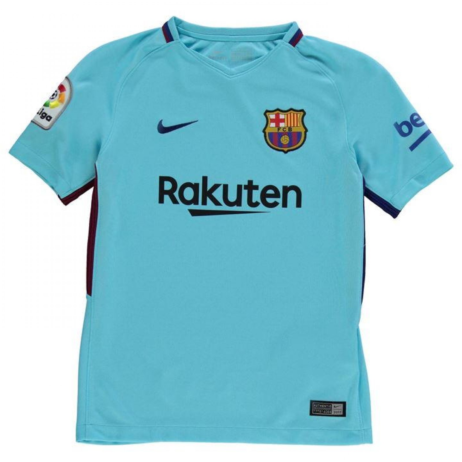 detailed pictures 570ae 88af1 Childrens Barcelona Away Football Kit 2017/18 | Junior Barca ...