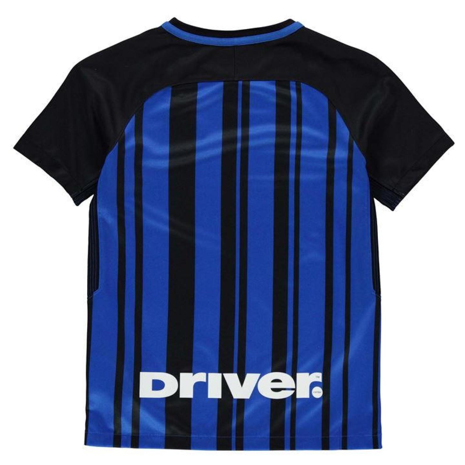 buy popular 6efe1 e7400 Childrens Inter Milan Home 2017/18 Football Kit   Free Shirt ...