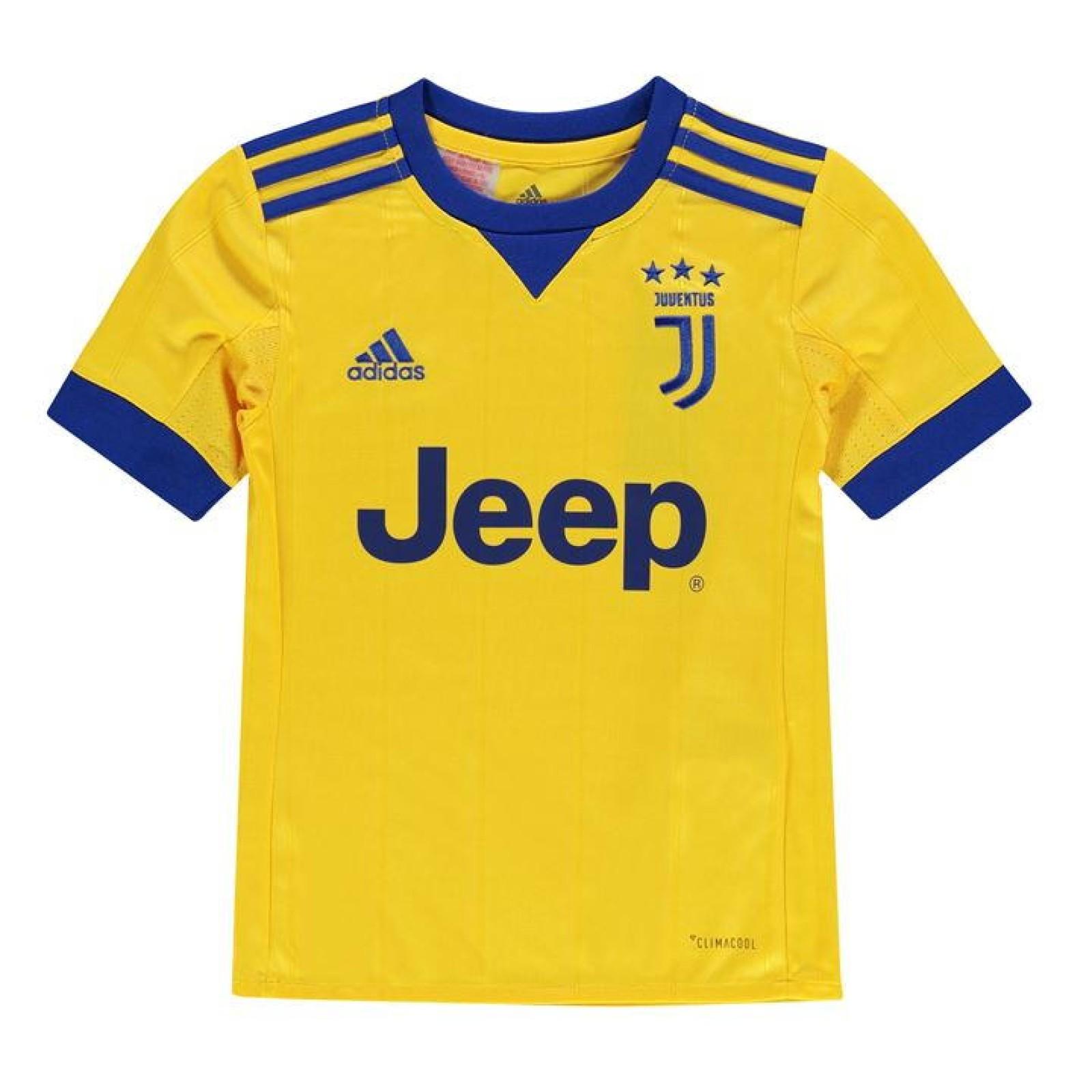 finest selection 7a785 ba78f Childrens Juventus Away 2017/18 Football Kit | Free Shirt ...
