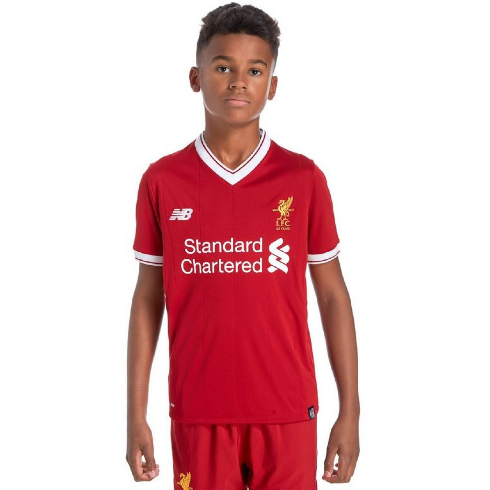 check out 724c4 20a4c Childrens Liverpool Home Kit 2017/18 with Free Shirt ...
