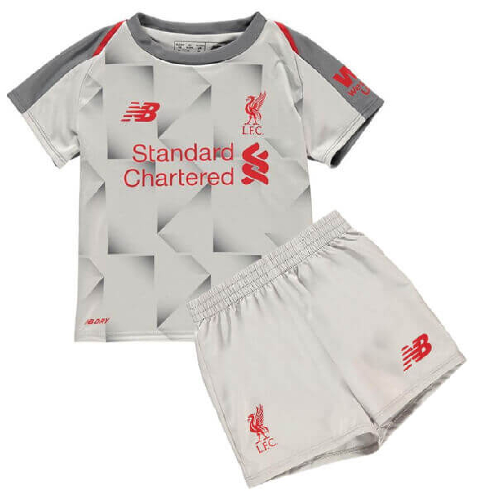 cheap for discount 05590 bddfa Childrens Liverpool Third Kit 2018/19 from £29.99 | Free ...
