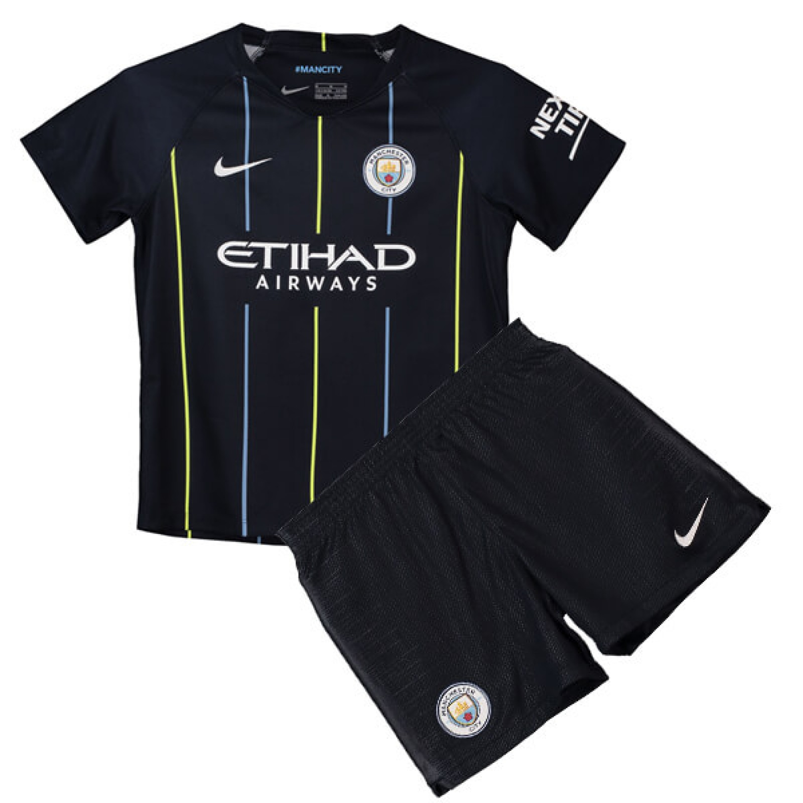5d09a34bb Childrens Manchester City Away Kit 2018 19 from £30.99