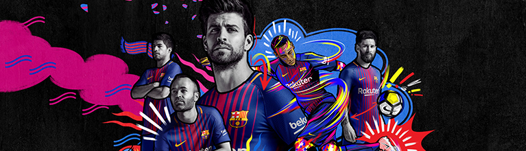 finest selection b5288 6e1a1 Childrens Barcelona Football Shirts and kits from £29.99 ...